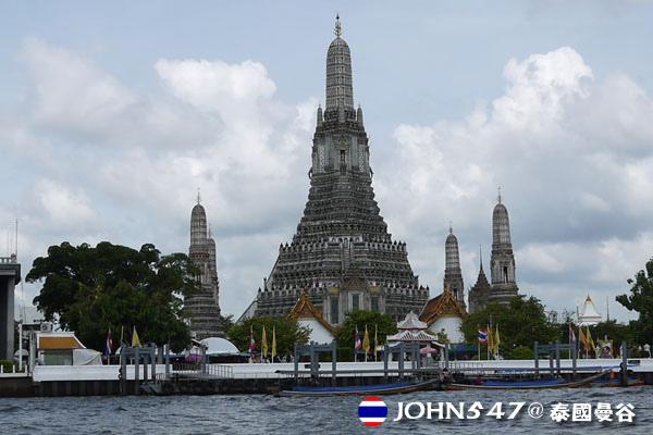 泰國曼谷Khlong Bangkok Yai運河長尾船6.jpg