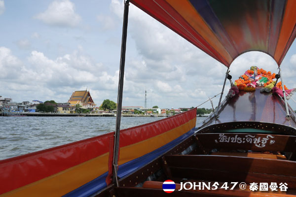 泰國曼谷Khlong Bangkok Yai運河長尾船5.jpg