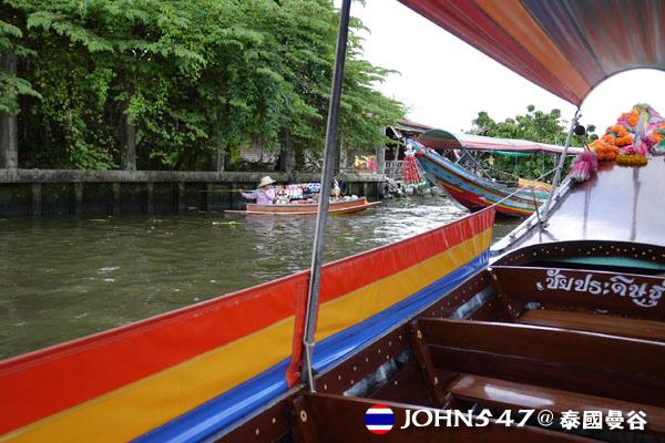 泰國曼谷Khlong Bangkok Yai運河長尾船8.jpg