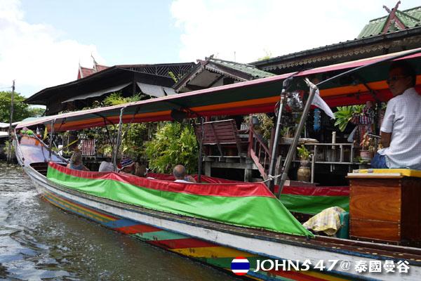 泰國曼谷Khlong Bangkok Yai運河長尾船11.jpg