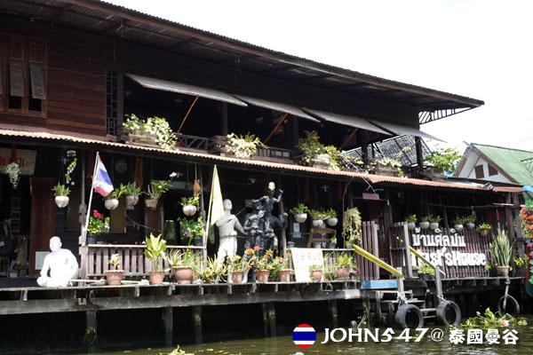 泰國曼谷Khlong Bangkok Yai運河長尾船12.jpg