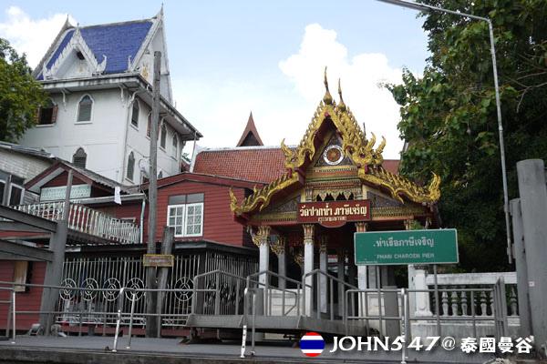 泰國曼谷Khlong Bangkok Yai運河長尾船15.jpg