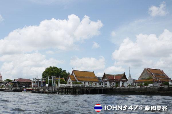 泰國曼谷Khlong Bangkok Yai運河長尾船16.jpg