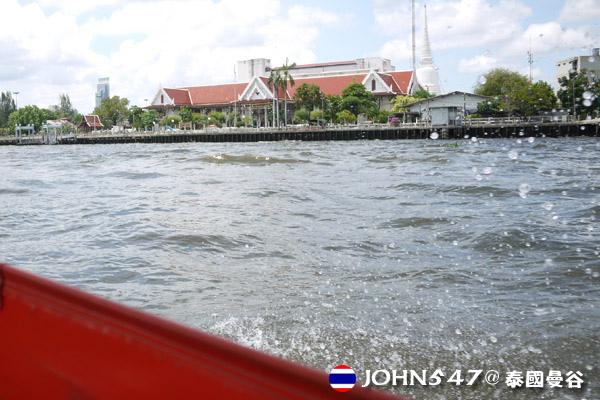 泰國曼谷Khlong Bangkok Yai運河長尾船17.jpg