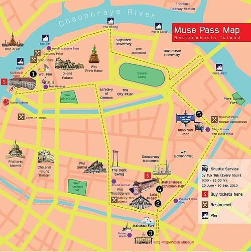 Museum Pass for Rattanakosin in Bangkok2