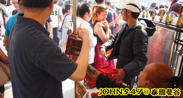泰國四面佛的許願拜法、還願方式 2014版放生鳥.jpg