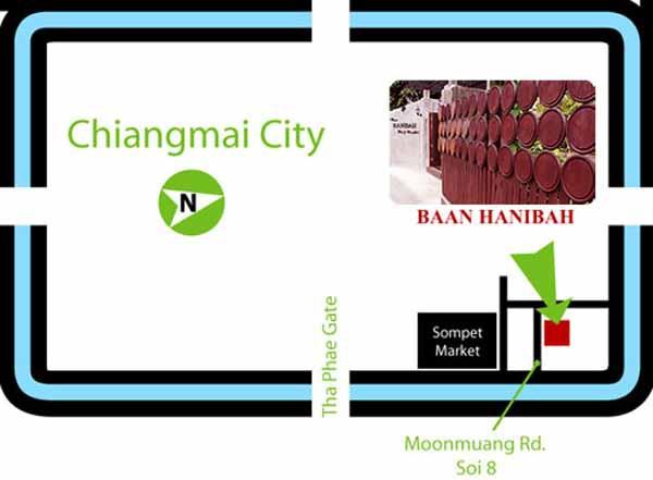 Baan Hanibah 清邁 班漢尼拔酒店  map.jpg