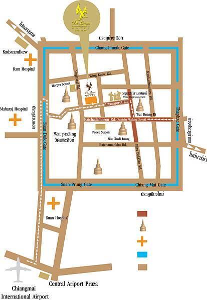清邁 De Lanna Hotel  德蘭納酒店 MAP BIG.jpg