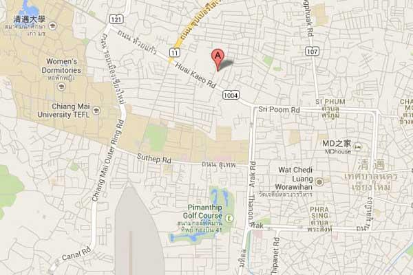 清邁 Sakulchai Place 薩庫查廣場酒店 map2.jpg