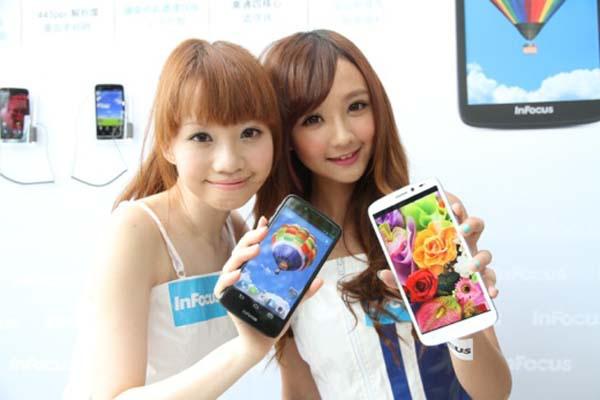 InFocus富可視與富士康合作高CP值手機