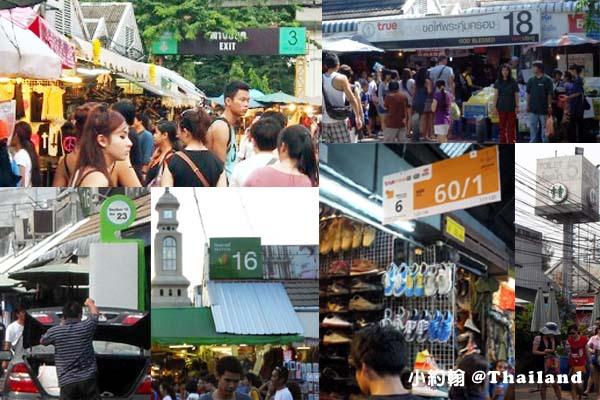 恰圖恰週末市集Jatujak Market血拼攻略標示說明