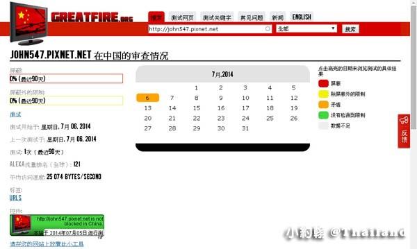 GreatFire 中國的網路審查2014-7-6