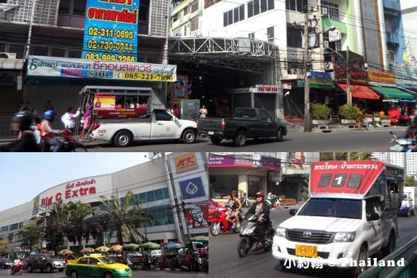 泰國曼谷火車鐵道夜市如何搭雙條車.jpg