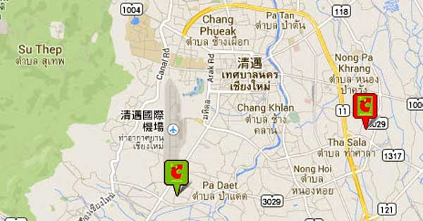 Big C Chiang Mai MAP