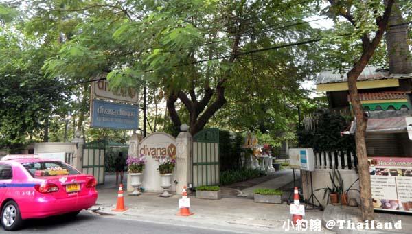 泰國曼谷DIVANA Virtue SPA五星級庭園SPA