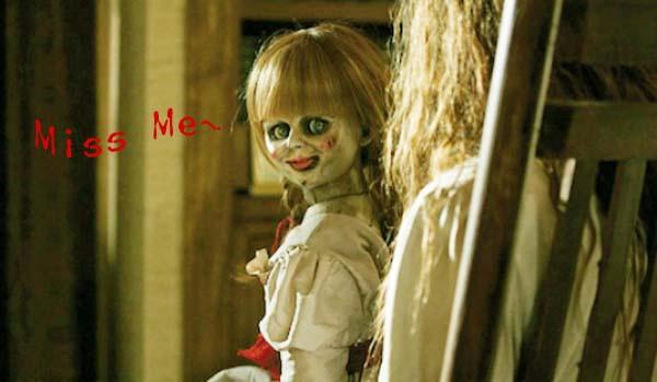 厲陰宅conjuring annabelle doll鬼娃娃安娜貝爾