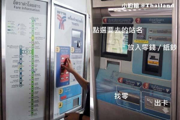 曼谷BTS空鐵捷運如何買票