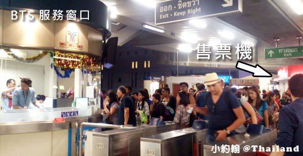 曼谷BTS空鐵捷運如何買票2
