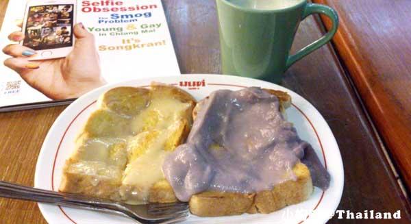 清邁Mont Toast便宜又美味烤土司甜點1.jpg