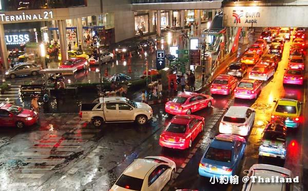 泰國計程車 塞車情形