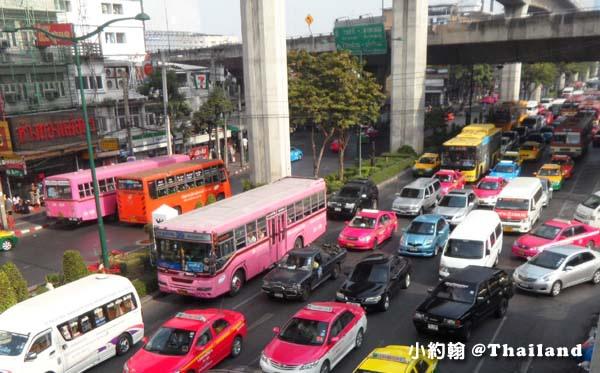泰國計程車 塞車情形2