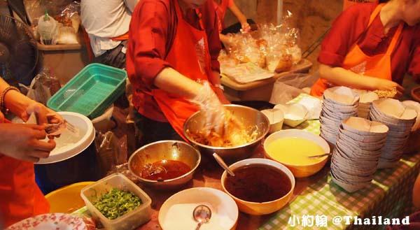 清邁Sunday Walking Market 泰國 炸豬皮米粉1.jpg