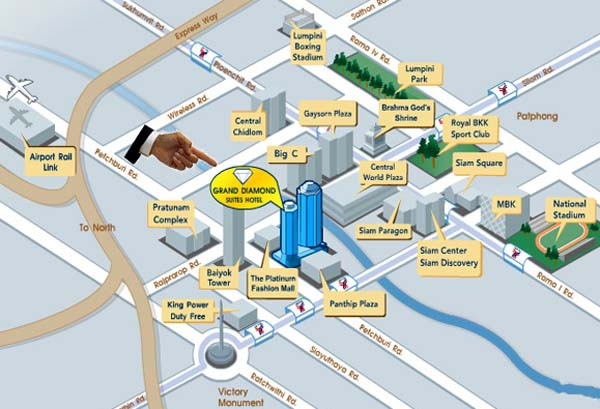 Grand Diamond Suites Hotel鑽石飯店map.jpg