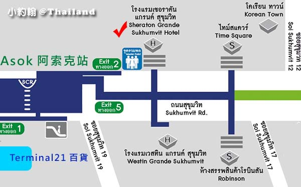 Sheraton Grande Sukhumvit曼谷喜來登大飯店MAP.jpg
