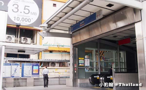 泰國曼谷MRT地鐵Sukhumvit 蘇坤蔚站2號.jpg