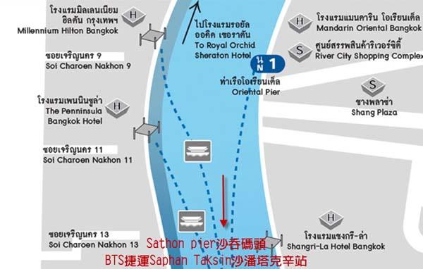 曼谷n1碼頭Chao Phraya昭披耶河飯店