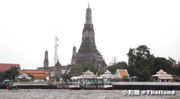 泰國曼谷昭拍耶河Chao Phraya River鄭王廟Wat Arun.jpg