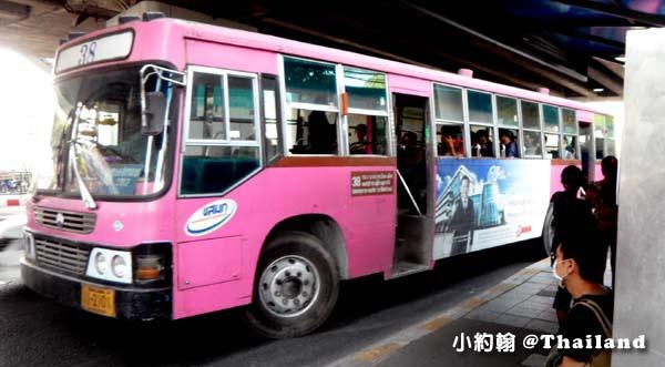 泰國交通如何搭程曼谷巴士Bangkok Bus2.jpg