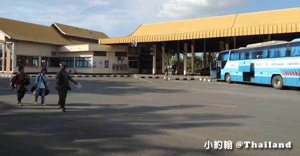 泰國素可泰新城巴士站Sukhothai new city bus terminal