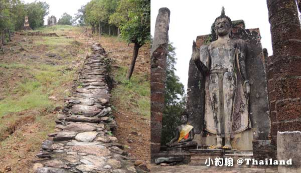 素可泰歷史遺跡公園Wat Saphan Hin 沙潘欣寺