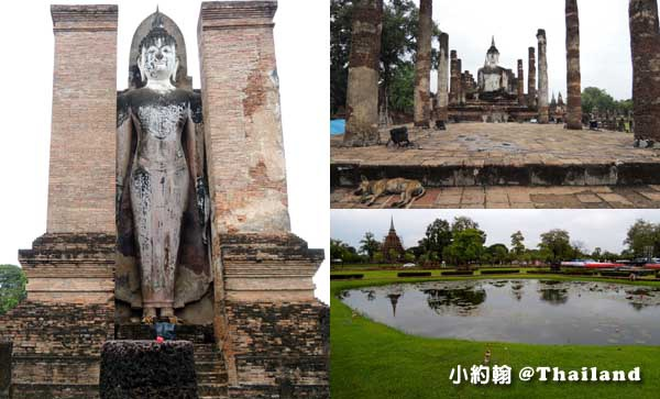 素可泰歷史遺跡公園Wat Mahathat 瑪哈泰寺