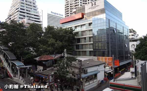 曼谷近捷運飯店The Heritage Bangkok Silom Hotel遺產飯店Bts Chong Nonsi