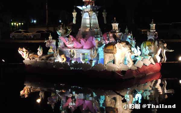 泰國清邁護城河上水燈燈籠.jpg