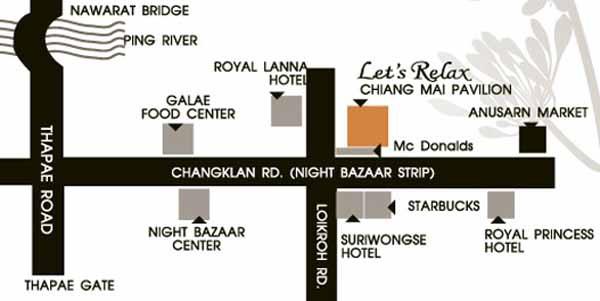 泰國清邁Let's Relax Spa按摩店map.jpg