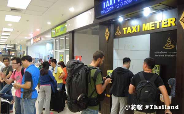 泰國 清邁機場計程車