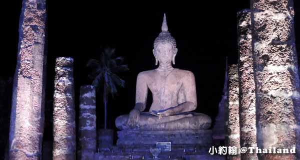 素可泰水燈節煙火秀 Sukhothai 素可泰歷史遺跡公園6.jpg