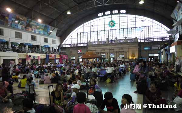 泰國曼谷中央火車站Hua Lamphong華藍蓬火車站3.jpg