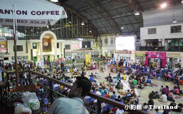 泰國曼谷中央火車站Hua Lamphong華藍蓬火車站5.jpg