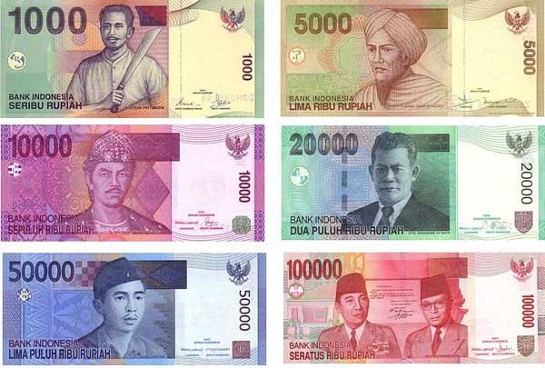 印尼盧比 Rupiah 簡寫Rp.又稱為印尼盾