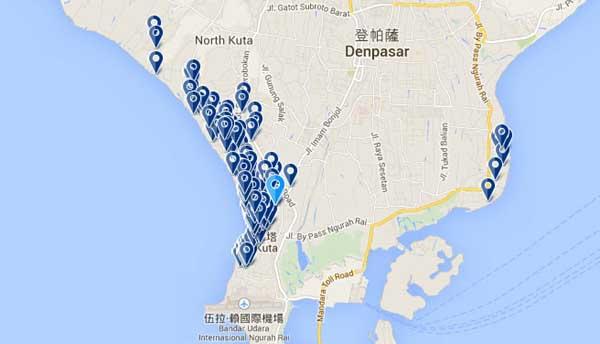 印尼峇里島自由行準備機票飯店