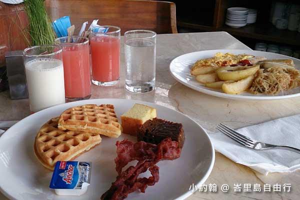 峇里島自由行- 峇里島四星級飯店Grand Ixora Kuta Resort 早餐吧