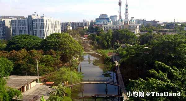曼谷機場即Suvarnabhumi Airport 蘇凡納布機場 外郊.jpg