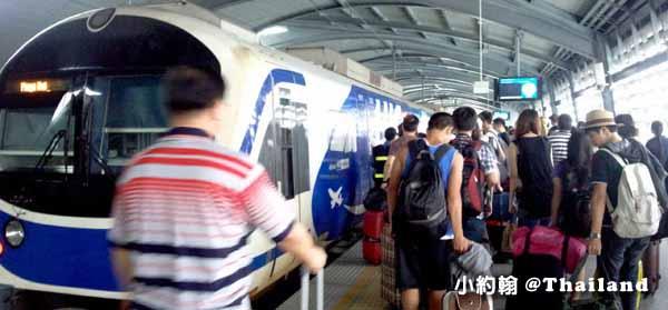 如何搭曼谷機場捷運快線Suvarnabhumi