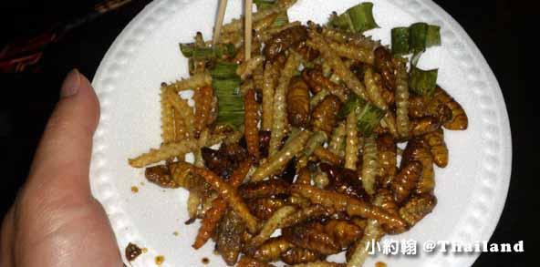 泰國蟲蟲大餐炸竹蟲炸蟑螂炸螳螂炸蟲蛹2.jpg