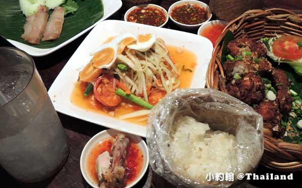 曼谷美食Somtam Nua青木瓜泰式炸雞專賣店@暹羅廣場9.jpg