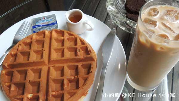 三峽KE House小酒窩超值鬆餅餐咖啡